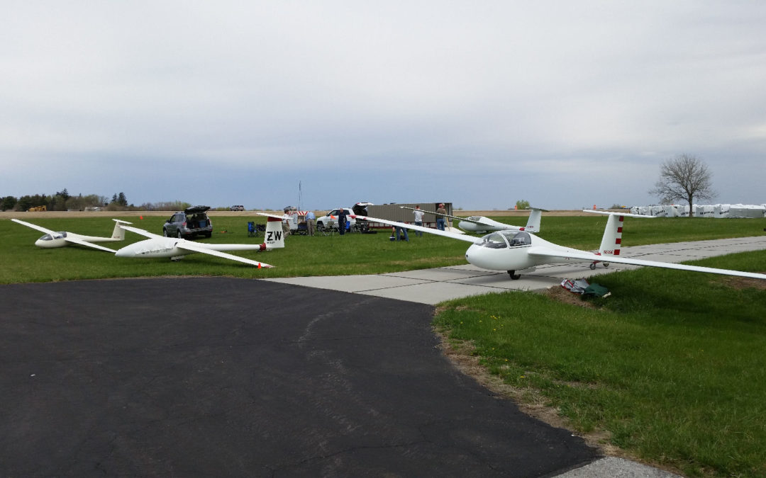 Jim C. Takes Britney for a ride in the L-23