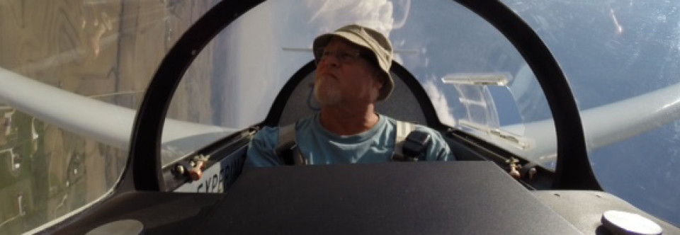 Bob D. Checks the Field Conditions before landing
