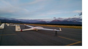 Gliders awaiting drier weather